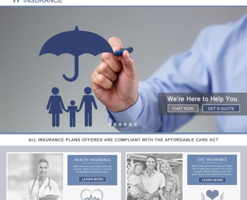Insurance Agent Web Design
