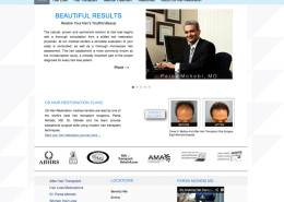 Website Designer for Doctors
